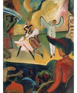 August Macke, Russisches Ballett I. 1912.