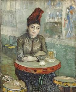 Vincent van Gogh, Agostina Segatori im Café Le Tambourin. 1887