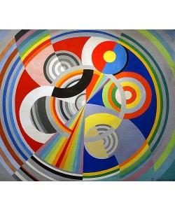 Robert Delaunay, Rhythmus No 1, Wanddekoration für den Salon des Tuileries. 1938