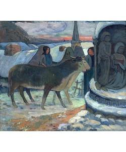 Paul Gauguin, Die Heilige Nacht (Die Segnung der Ochsen). 1902-03