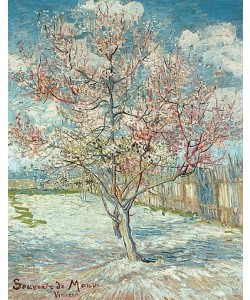 Vincent van Gogh, Blühende Pfirsichbäume (Souvenir de Mauve). 1888.