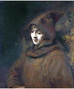 Rembrandt van Rijn, Rembrandts Sohn Titus im Franziskanerhabit. 1660