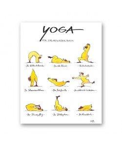 Peter Gaymann, Yoga für Schwarzwälder
