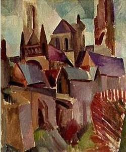 Robert Delaunay, Die Türme von Laon.