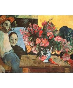 Paul Gauguin, Te tiare Farani (Die Blumen Frankreichs). 1891