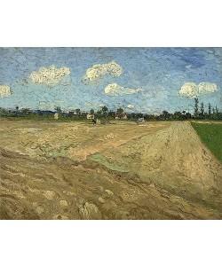 Vincent van Gogh, Gepflügter Acker (Furchen). 1888