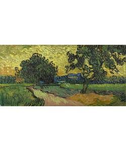 Vincent van Gogh, Landschaft in der Dämmerung. 1890