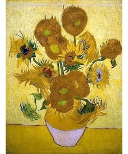 Vincent van Gogh, Sonnenblumen. Arles, Januar 1889.