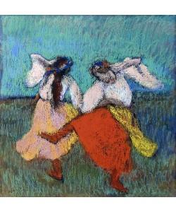 Edgar Degas, Russische Tänzerinnen (Danseuses Russes). Um 1899