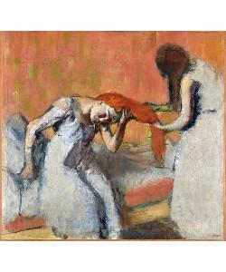 Edgar Degas, Beim Kämmen (La coiffure). 1892-95