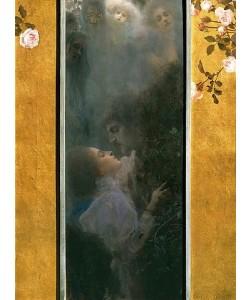 Gustav Klimt, Liebe. 1895.