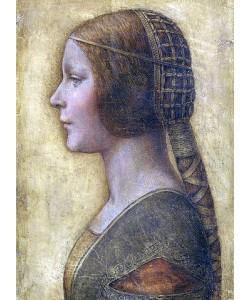 Leonardo da Vinci, La Bella Principessa. Um 1496