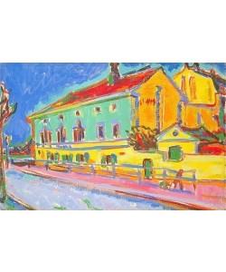 Ernst Ludwig Kirchner, Häuser in Dresden. 1909/10.