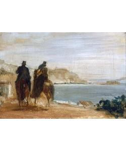 Edgar Degas, Ausritt am Meer. Um 1860