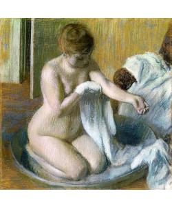 Edgar Degas, Frau im Badezuber. Um 1883