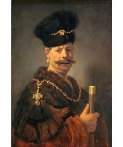 Rembrandt van Rijn, Ein polnischer Edelmann. 1637