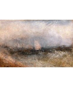 Joseph Mallord William Turner, Off the Nore. 1840-45.