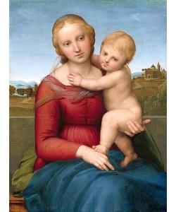 Raffael (Raffaello Sanzio), Die kleine Cowper Madonna. C. 1505