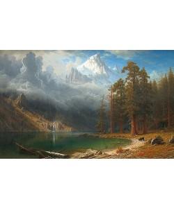 Albert Bierstadt, Mount Corcoran. Um 1876-77