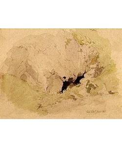 Caspar David Friedrich, Felshöhle. 1811.
