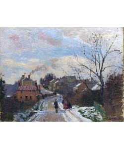 Camille Pissarro, Fox Hill, Upper Norwood. 1870