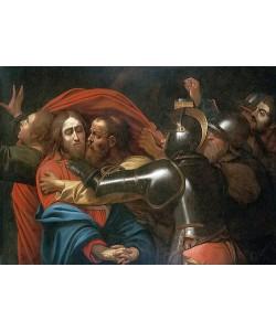 Michelangelo Merisi da Caravaggio, Die Gefangennahme Christi. Frühes bis Mitte 17. Jh.
