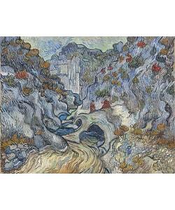 Vincent van Gogh, Die Schlucht (Les Peiroulets). 1889