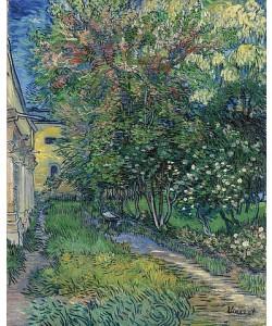 Vincent van Gogh, Der Garten der Heilanstalt in Saint-Rémy. 1889