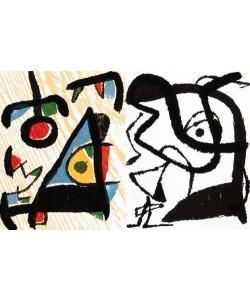 Miro Joan Engravings II (Holzdruck, unsigniert)