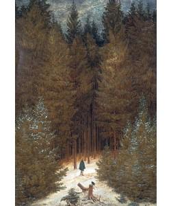 Caspar David Friedrich, Chasseur im Walde. Um 1813/14