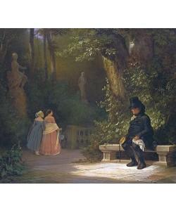 Carl Spitzweg, Der Witwer. 1844