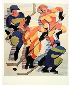 Ernst-Ludwig Kirchner, Hockey Players (Offset)