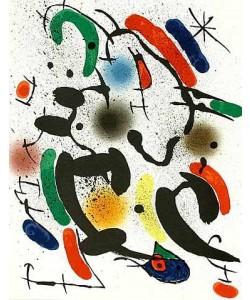 Miro Joan Volume 1 Blatt 6 (Tanz) (Lithog.Buchauflage)