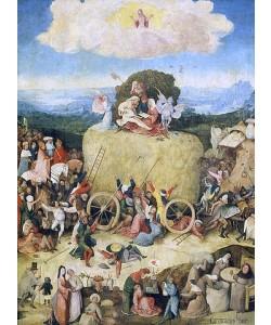 Hieronymus Bosch, Triptychon Der Heuwagen. Mitteltafel.