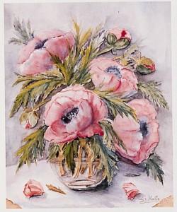 Gabriele von Hake, Rosa Mohn 2410