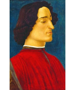 Sandro Botticelli, Giuliano de' Medici (1453-1478). Um 1478