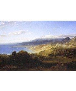 Carl Rottmann, Taormina mit dem Aetna. 1828/1829.