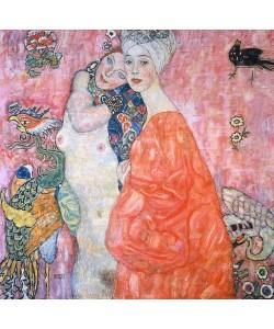 Gustav Klimt, Die Freundinnen.  1916/17