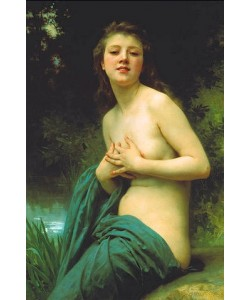 William Adolphe Bouguereau, Frühlingslüfte. 1895.