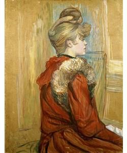 Henri de Toulouse-Lautrec, Jeanne Fontaine. 1891