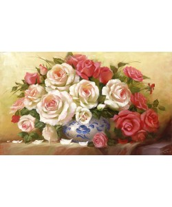 Petrovich Dvoretskiy, RED WHITE ROSES