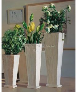 James Demmick, Stillife with white vases