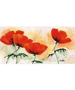 Florenti, Poppies on ricepaper I