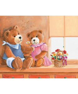 Jasper, Mrs. And Mr. Bear I