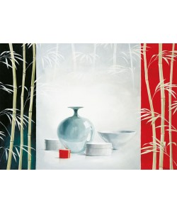 Renee, Bamboo and bowls II