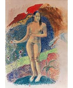 Paul Gauguin, Tahitianische Eva. 1891.