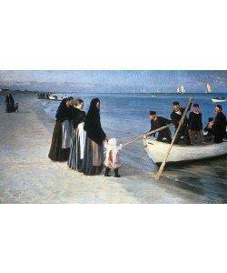 Peter Severin Kroyer, Ausfahrt der Fischer. Skagen 1894