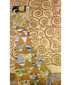 Gustav Klimt, Die Erwartung, Vorlage zum Stocletfries. Um 1905/09