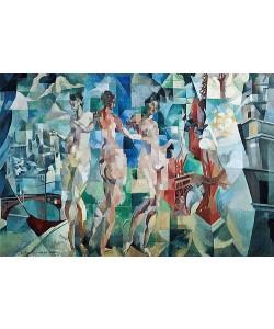 Robert Delaunay, La Ville de Paris. 1910-12