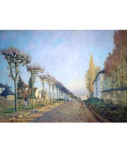 Alfred Sisley, Chemin de la Machine (oder: La route du chemin de Sèvres). 1873